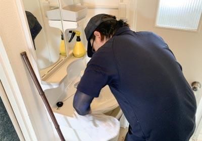 遺品整理士による 特殊清掃