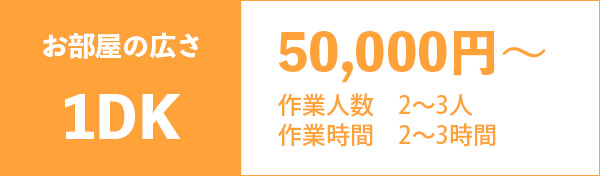 1DK 50000円