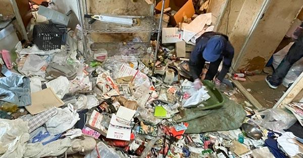 汚部屋清掃サポート